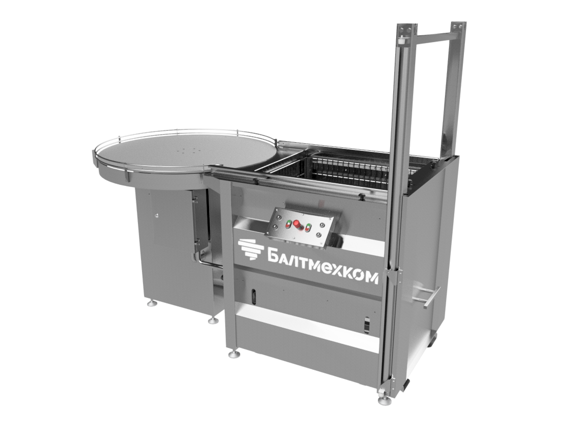 Autoclave basket loader