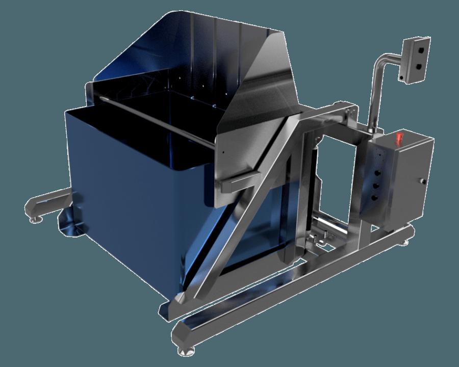 Опрокидыватель контейнеров - Фотография 3