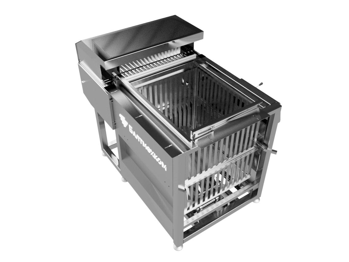 Полуавтоматический рядный загрузчик банок - Фотография 2
