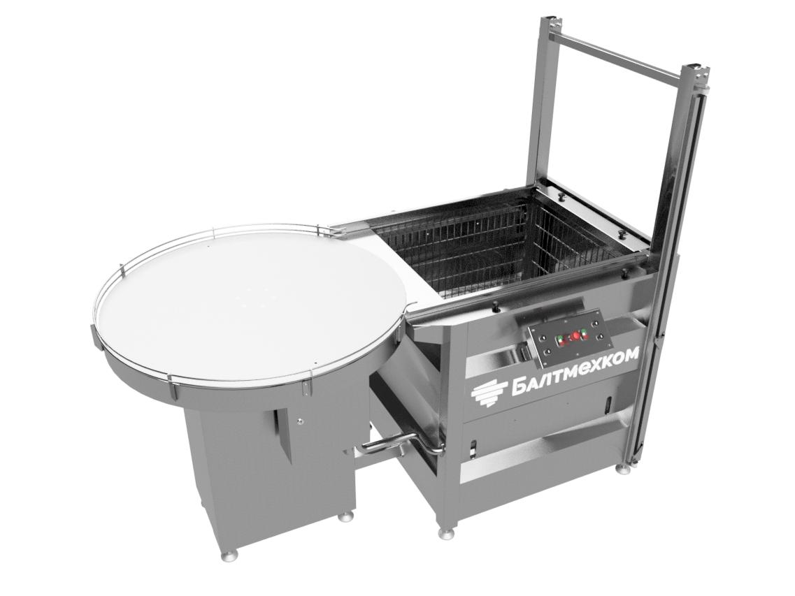 Ручной укладчик банок с роторным столом - Фотография 4