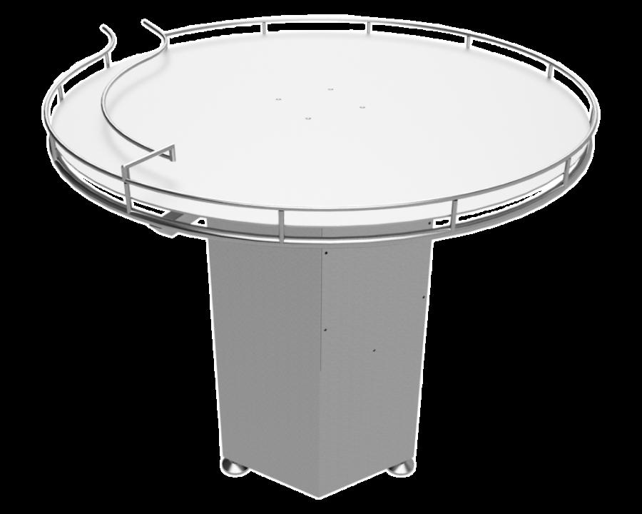 Роторный стол для консервных банок - Фотография 1