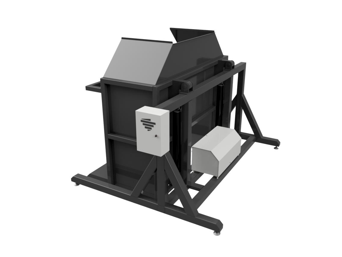 Гидравлический разгрузчик ящиков - Фотография 3