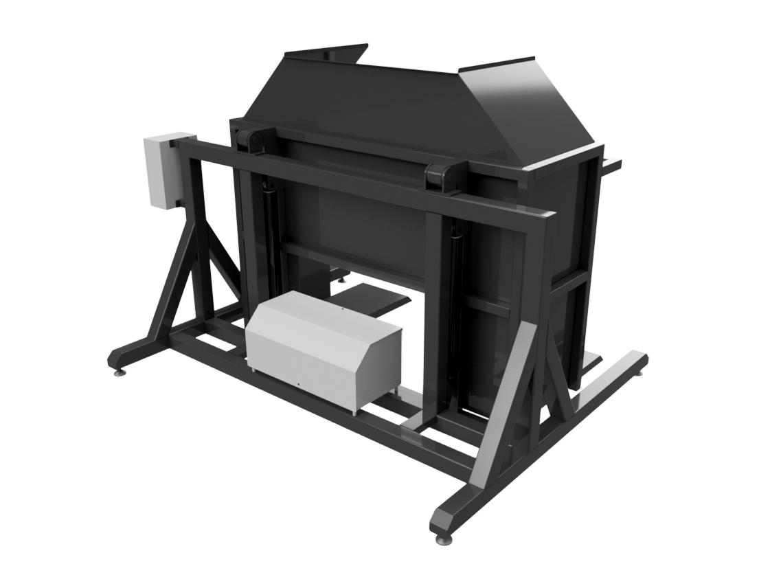 Гидравлический разгрузчик ящиков - Фотография 4